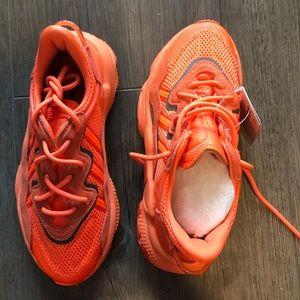 Adidas Ozweego Neon Orange Sneakers